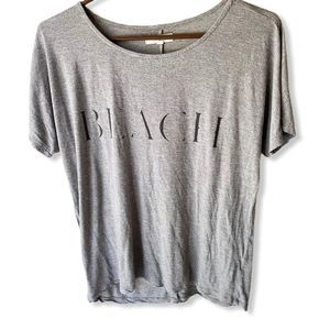 """Madewell """"Beach"""" Grey Top Size Small"""